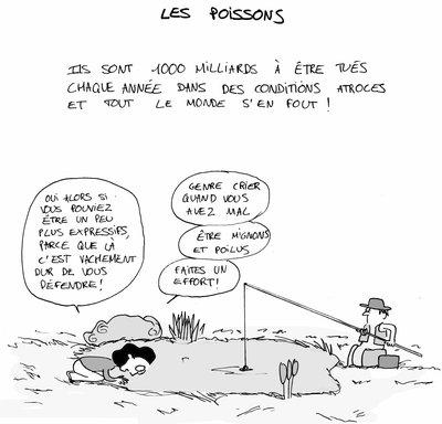 """""""Ressemblez-nous donc un peu plus!"""", dessin de Insolente Veggie"""